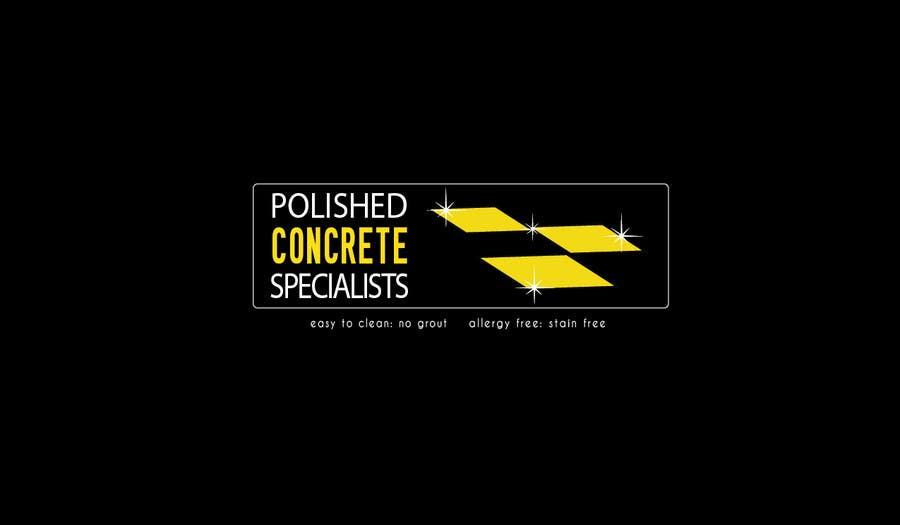 Penyertaan Peraduan #47 untuk Logo Design for Polished Concrete Specialists