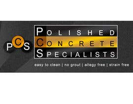 #176 para Logo Design for Polished Concrete Specialists por willmamet