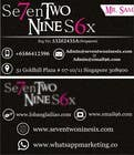 Graphic Design Entri Peraduan #10 for Design some Business Cards for SevenTwoNineSix