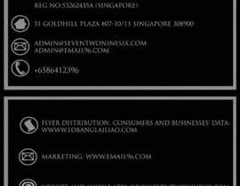 #1 untuk Design some Business Cards for SevenTwoNineSix oleh mattiaswillis
