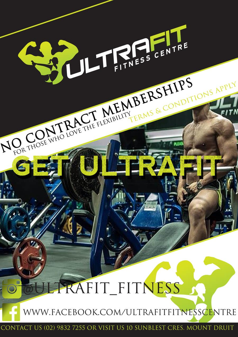 Konkurrenceindlæg #                                        13                                      for                                         ULTRAFIT No Contract Promo Offer