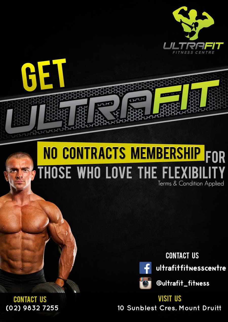 Konkurrenceindlæg #                                        8                                      for                                         ULTRAFIT No Contract Promo Offer