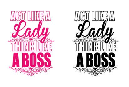 Image of                             Re-create artwork: Lady Boss