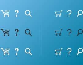 nº 7 pour Design some Sprite Icons par farmanahmed2007