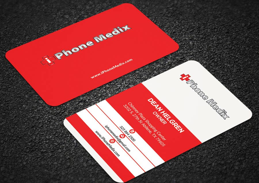Entry #94 by mehfuz780 for BUSINESS CARD DESIGN/CELLPHONE & TABLET ...