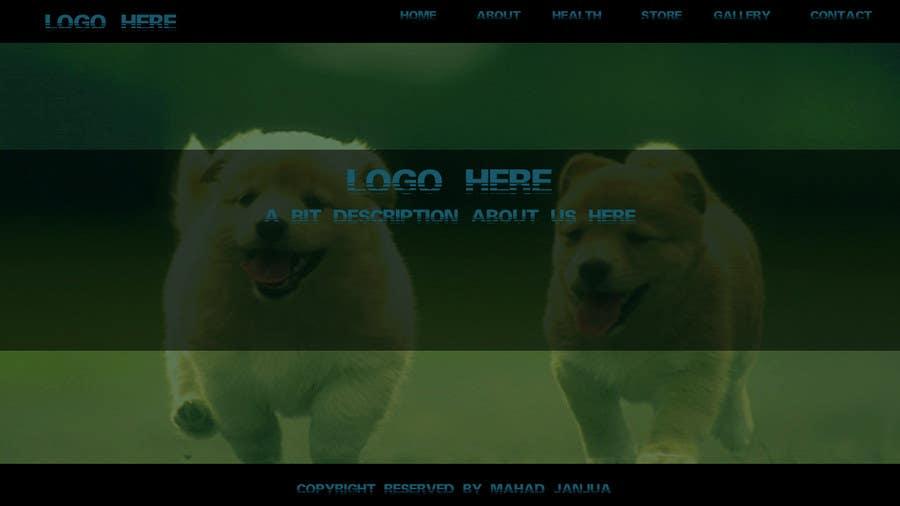Penyertaan Peraduan #                                        14                                      untuk                                         Design a Wordpress Mockup for Pet Food Website