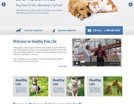 #21 untuk Design a Wordpress Mockup for Pet Food Website oleh kethketh