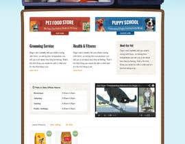 #8 untuk Design a Wordpress Mockup for Pet Food Website oleh abhayendra