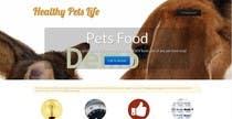 Graphic Design Entri Peraduan #12 for Design a Wordpress Mockup for Pet Food Website