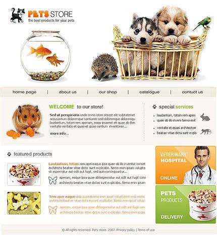 Penyertaan Peraduan #                                        16                                      untuk                                         Design a Wordpress Mockup for Pet Food Website