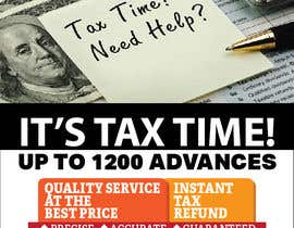 nº 4 pour Tax season flyer par felixdidiw