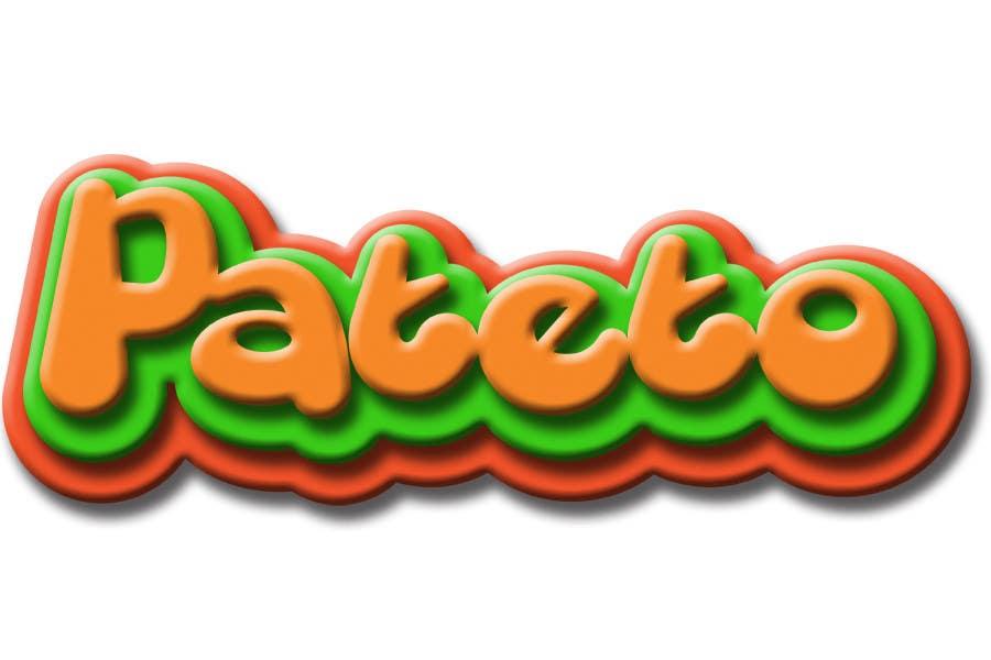 Penyertaan Peraduan #                                        35                                      untuk                                         Design a Logo for pateto