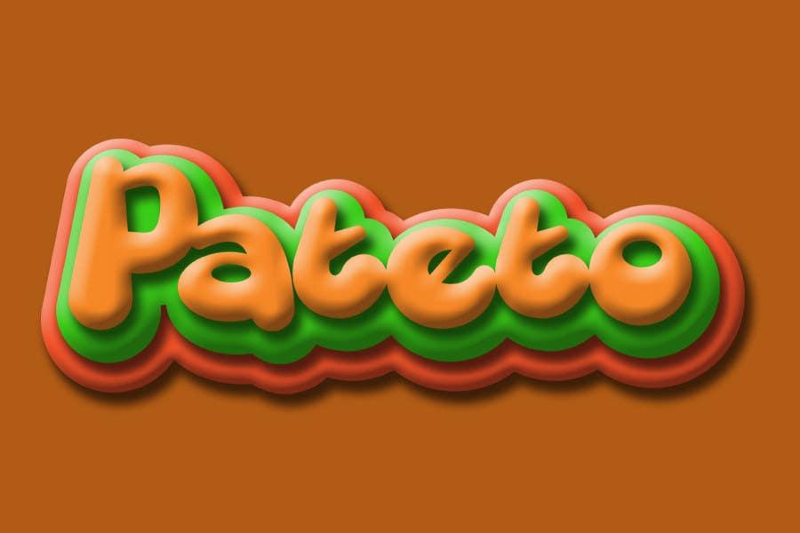 Penyertaan Peraduan #                                        56                                      untuk                                         Design a Logo for pateto