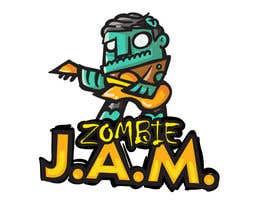 "#8 untuk Design a T-Shirt for a kids' band called ""Zombie J.A.M."" oleh MatiasDC"