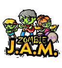 """T-Shirts Entri Peraduan #15 for Design a T-Shirt for a kids' band called """"Zombie J.A.M."""""""