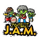 """T-Shirts Entri Peraduan #16 for Design a T-Shirt for a kids' band called """"Zombie J.A.M."""""""