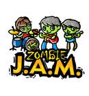 """T-Shirts Entri Peraduan #18 for Design a T-Shirt for a kids' band called """"Zombie J.A.M."""""""