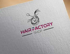 "#85 for Logo ""Hair Factory Shop"" by Polash32"