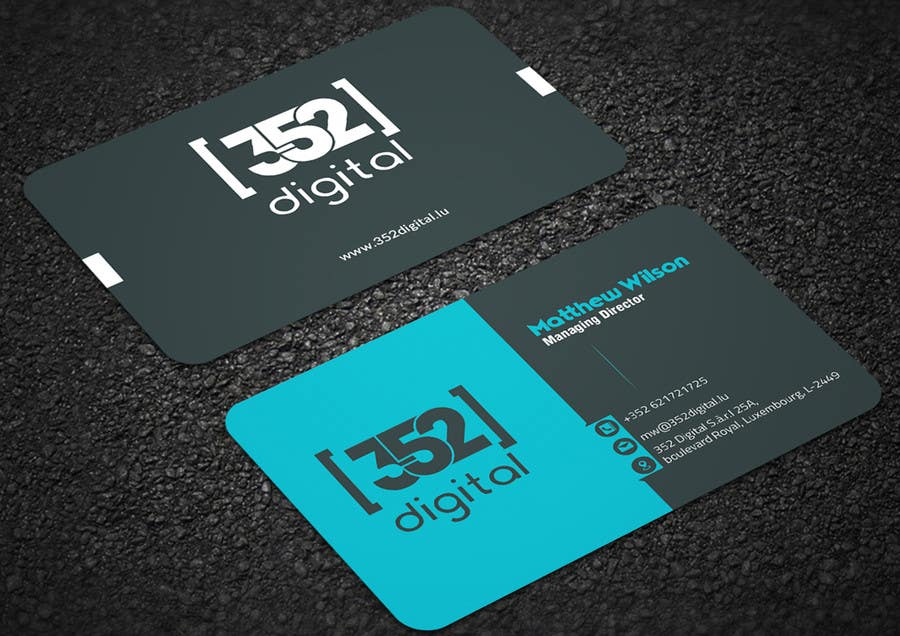 Entry #16 by mehfuz780 for Design some Business Cards & Presentation ...