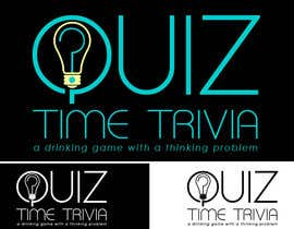 #18 para Logo Design for Quiz Time Trivia por GlenTimms