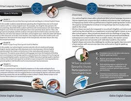#20 para Brochure Design for Center for High School Global Alliances por creationz2011