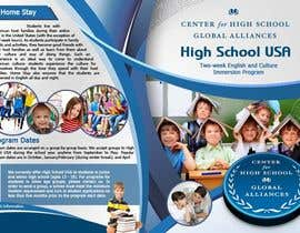 #31 para Brochure Design for Center for High School Global Alliances por EhabSherif