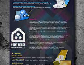 #55 untuk Design a Flyer for Print House Services oleh VALLOW
