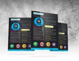 #28 untuk Design a Flyer for Print House Services oleh LemonIron