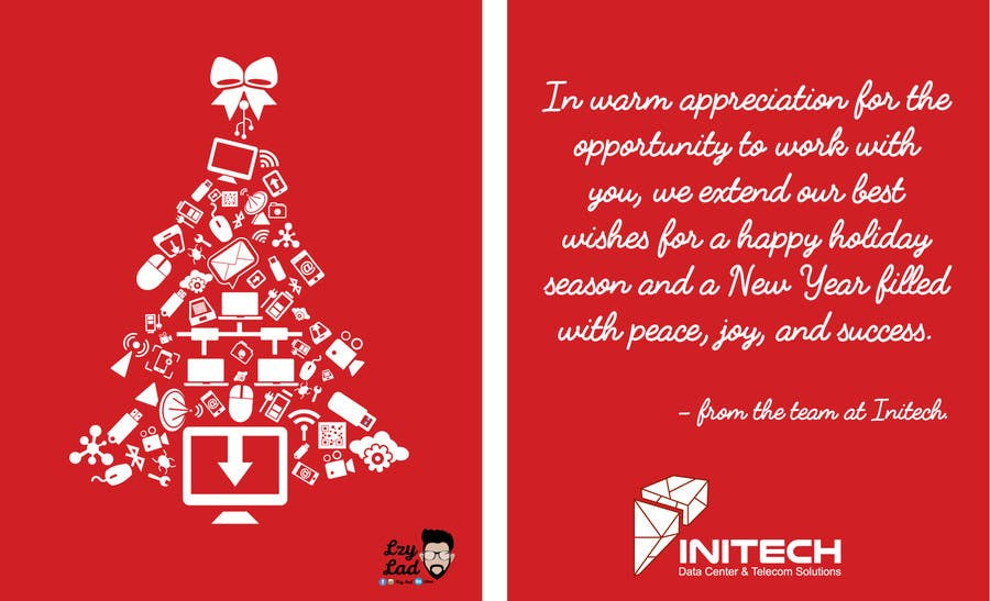 Entry #11 by kndsk13 for Christmas Card and Graphic Design for Tech ...