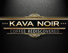 nº 84 pour Logo Design for KAVA NOIR par DirtyMiceDesign