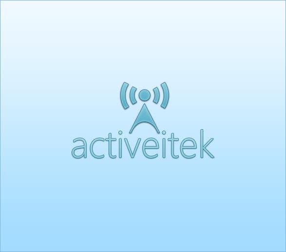 Kilpailutyö #166 kilpailussa Logo Design for ActiveItek