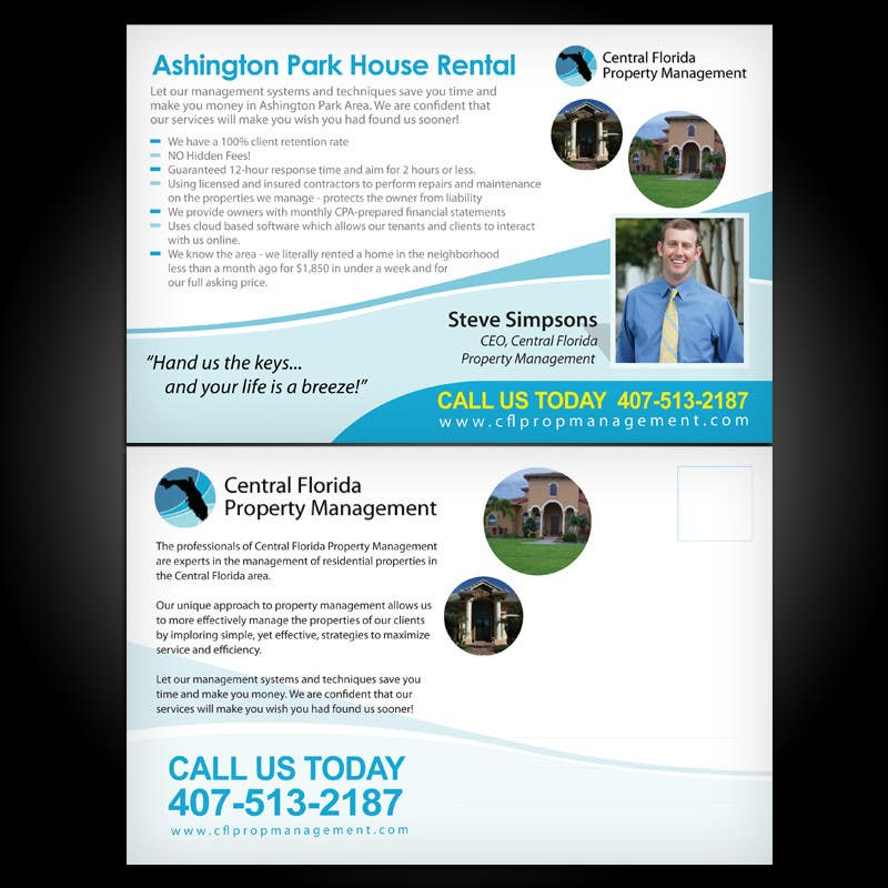 #63 for Ashington Park Flyer Design for Central Florida Property Management by pxstudio
