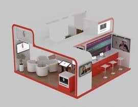 Nro 9 kilpailuun Exhibition stand 4 x 6 meters käyttäjältä pistudio
