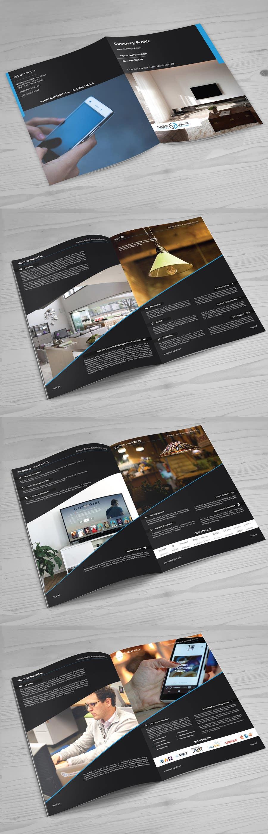 Proposition n°2 du concours design company profile