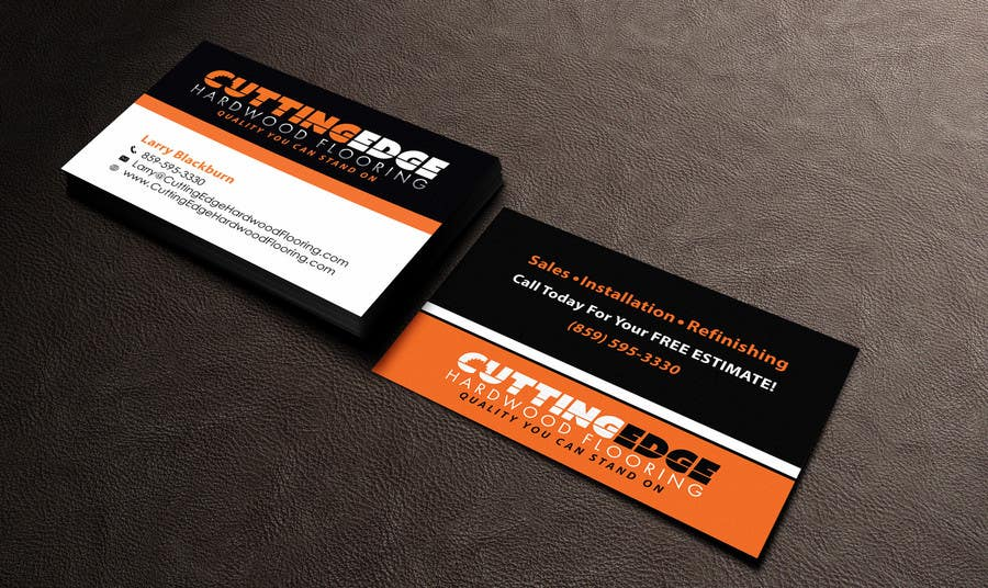 Edit business card design freelancer reheart Choice Image