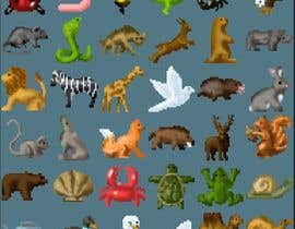 #6 , create a spreatsheet of 32x32px animals 来自 ClankY
