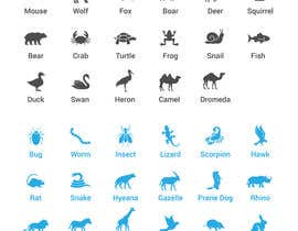 #8 , create a spreatsheet of 32x32px animals 来自 luutrongtin89