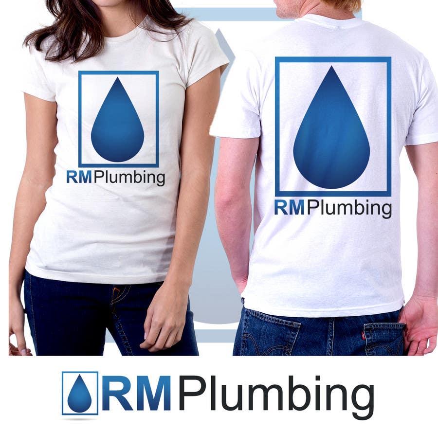 Penyertaan Peraduan #159 untuk Graphic Design for RM Plumbing