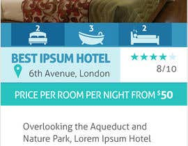 moorthyna tarafından Quick $50 Design a Website Element for a Hotel için no 61