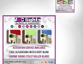 #7 untuk Graphic Design for AMC Lights Blinds And Bargains oleh digilogsystemseu