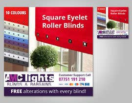 #14 untuk Graphic Design for AMC Lights Blinds And Bargains oleh wademd