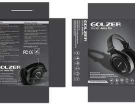 #5 para Design Headphones Product Retail Box por Mazeduljoni