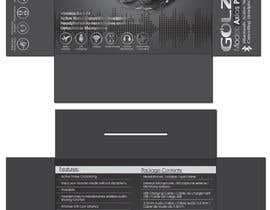 #16 para Design Headphones Product Retail Box por Mazeduljoni