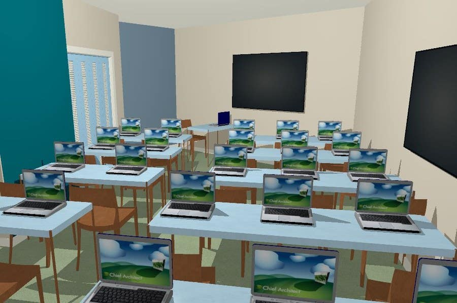 Entry 8 by ronaaron2 for Training office layout design Freelancer