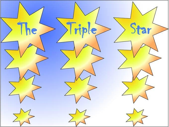 Contest Entry #                                        172                                      for                                         Logo Design for The Triple Star