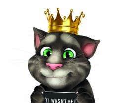 #4 cho make and put crown on cat's head. bởi BigPenDesigns