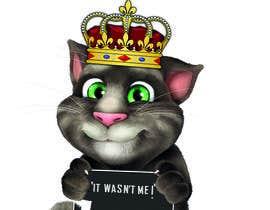#3 cho make and put crown on cat's head. bởi jamshaidrazaCG