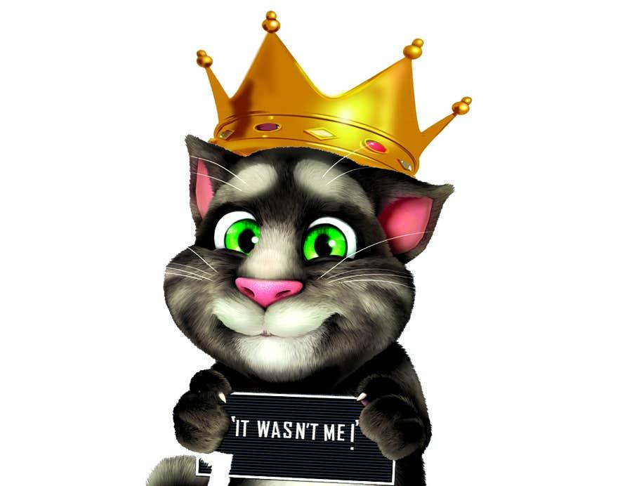 Bài tham dự cuộc thi #                                        6                                      cho                                         make and put crown on cat's head.