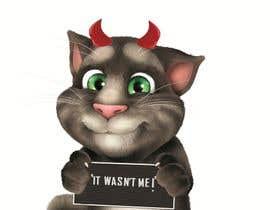 #26 cho make and put crown on cat's head. bởi shreyajuyal
