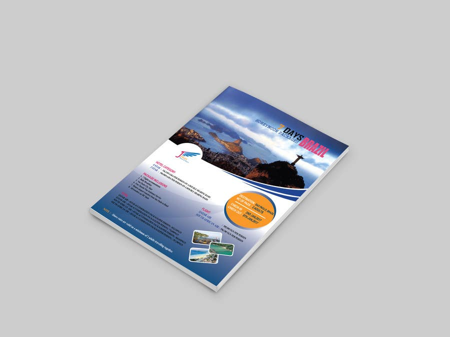 Contest Entry 7 For DESIGN HONEYMOON PACKAGE BROCHURE